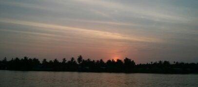 Abend am Mekong